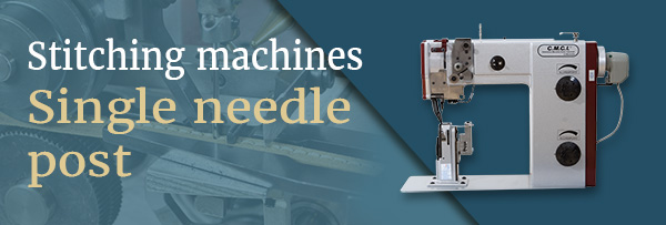 Stitching machines single needle post